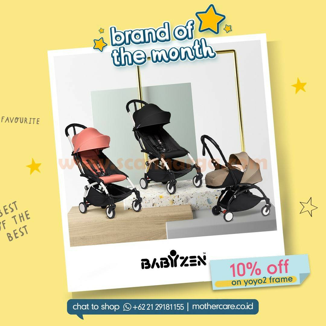 Mothercare Promo Brand Of The Month - Disc 10% Off on Yoyo 2 Frame