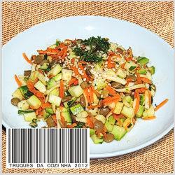 Salada de Lentilha Simples