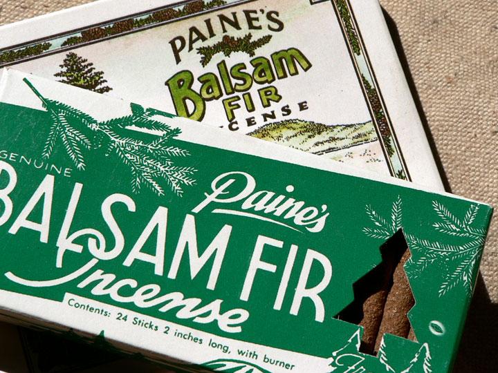 Damn Yak Dry Goods Co Paine S Balsam Fir Incense