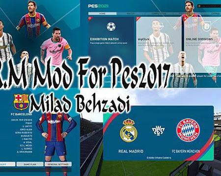 PES 2017 Ronaldo & Messi Graphic Mod