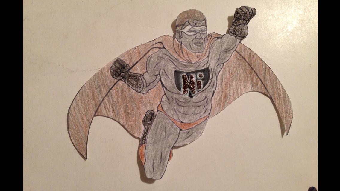 Captain Nickel: Superhero of the Year | Niki's Chemistry Blog