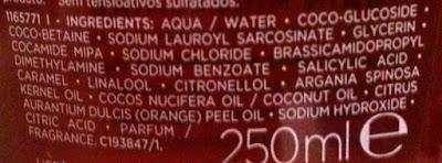 shampoo bain micellaire composicao
