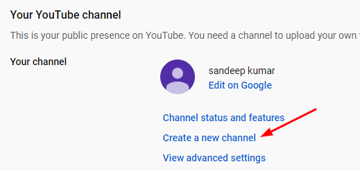 Creating YouTube Channel in Hindi
