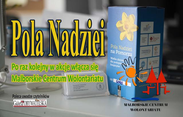 """Akcja pod nazwą """"Pola Nadziei"""""""
