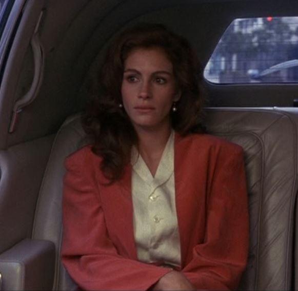 blazer da Vivian em Uma linda mulher