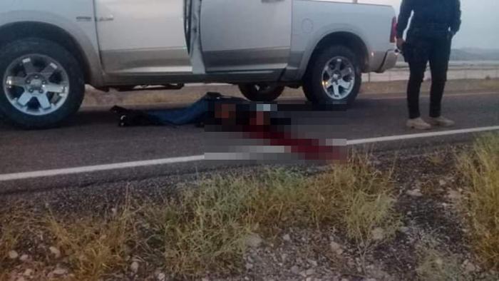 Guardia Nacional da alcance a sicarios del CDS que huían en una troca blanca en Durango; abaten a 2 y dejan otro herido