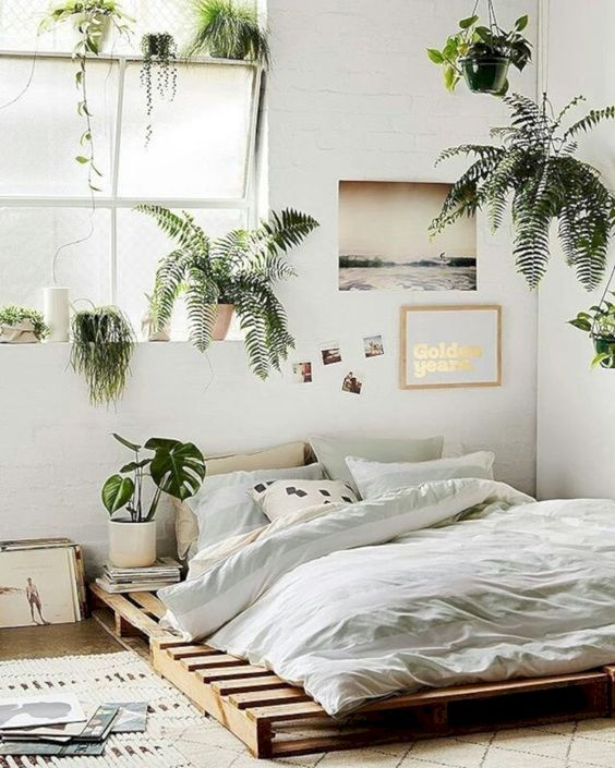 Elegant Boho Bedroom Decor Ideas For Small Apartment