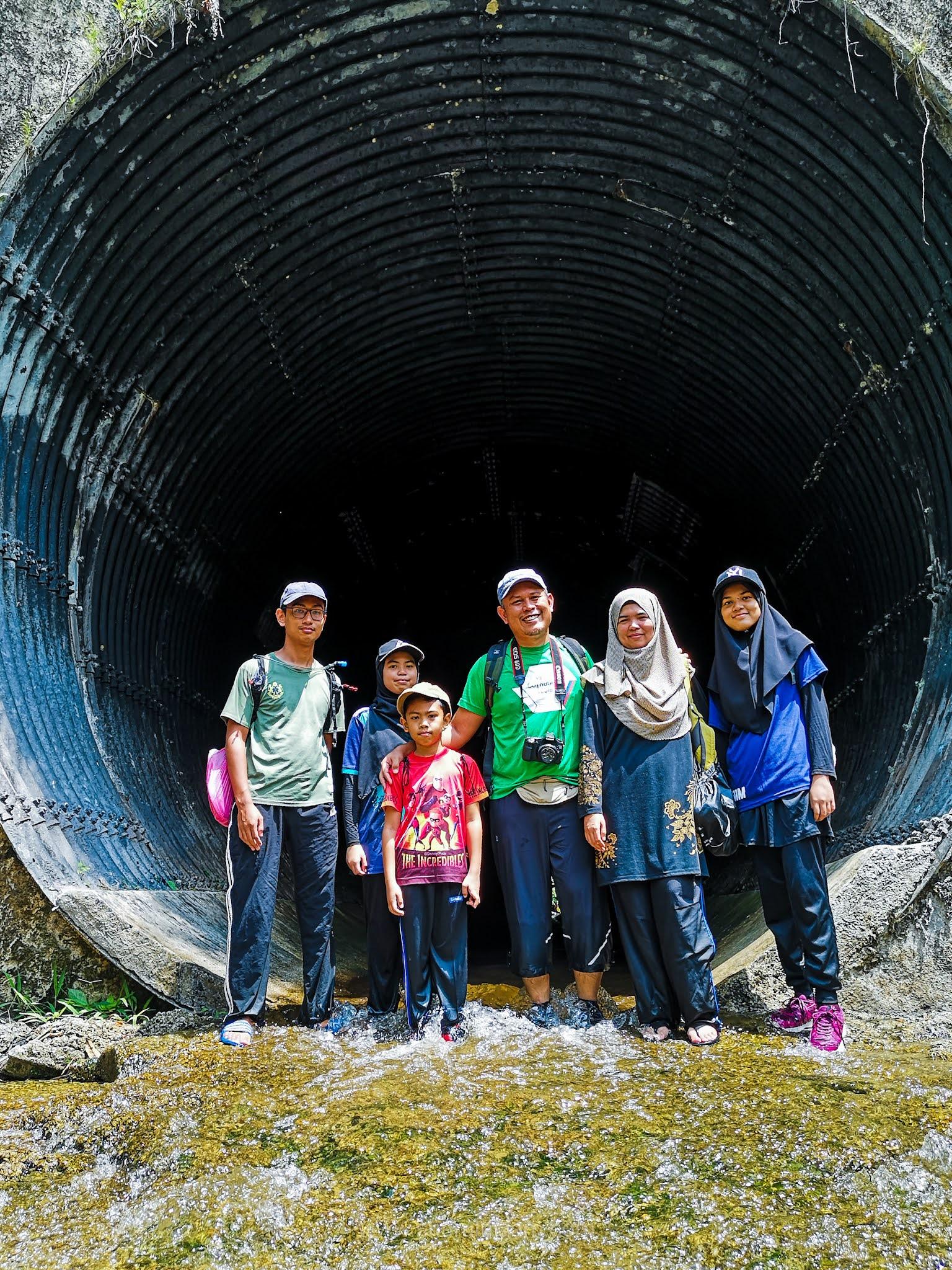 Trekking Ke Air Terjun Sungai Pisang, Gombak Bersama Keluarga