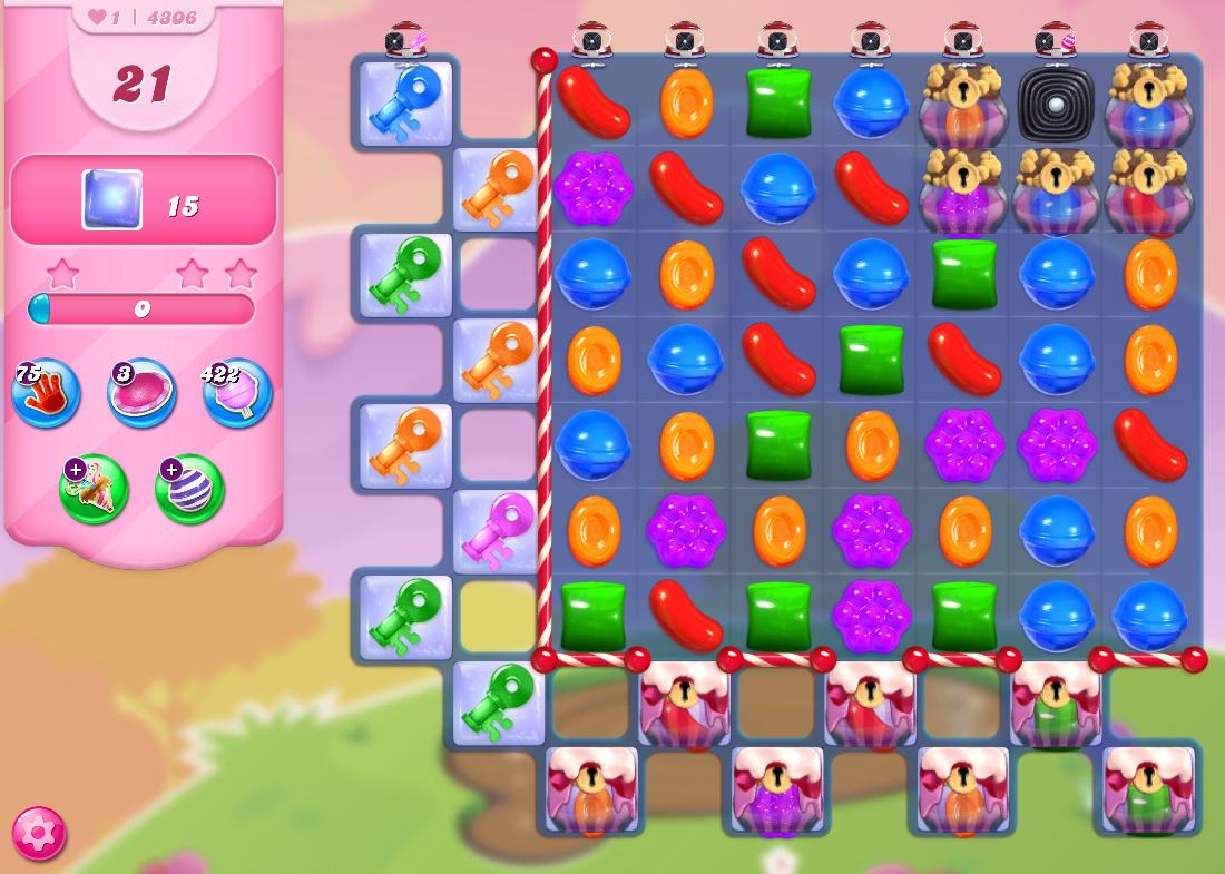 Candy Crush Saga level 4306