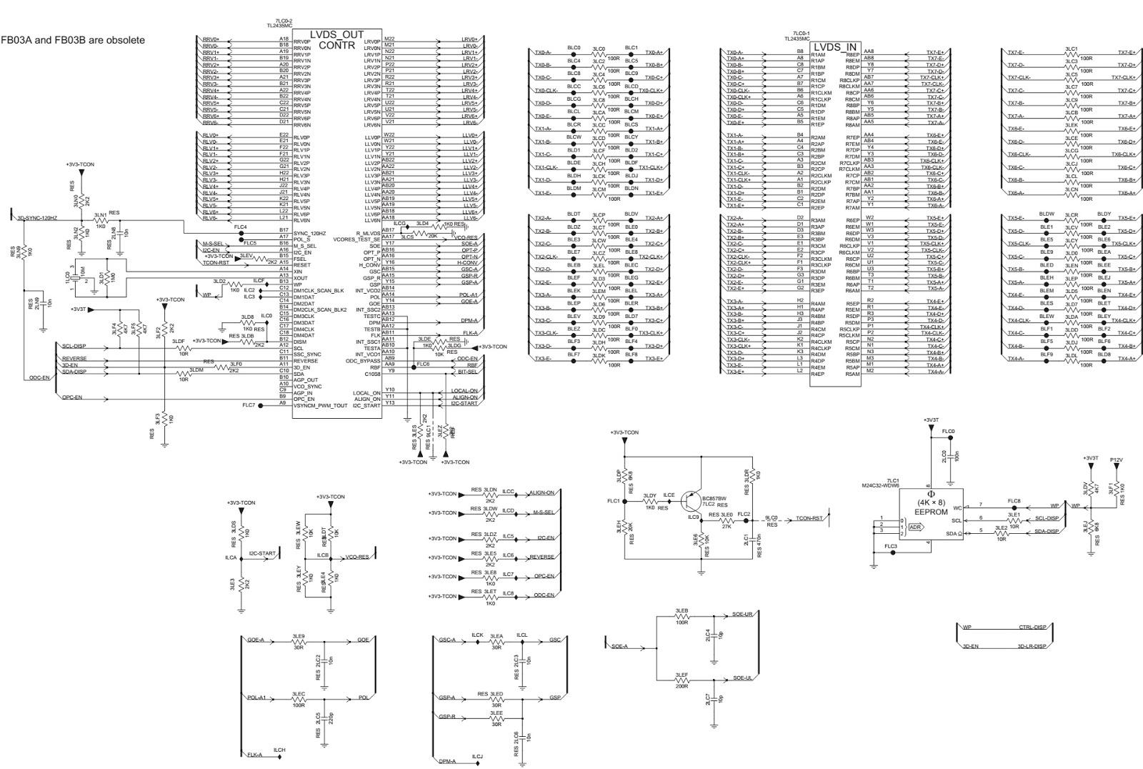 Philips 37 Inch Lcd Tv T Con Board Schematic Fb03c