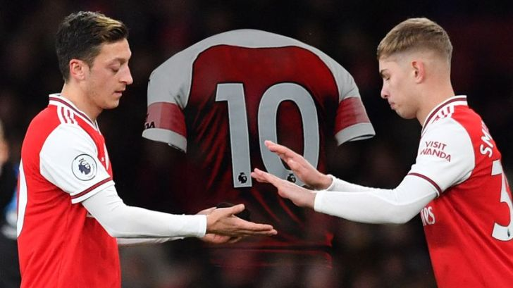 List Of Arsenal Players Who Have Worn No. 10 Shirt, Smith Rowe Included