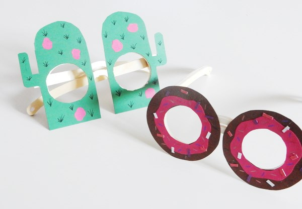 DIY : lunettes donuts