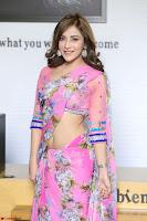 Angela Krislinzki Rogue Movie Fame Telugu Actress in Saree Backless Choli 054.JPG