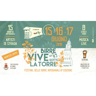 Birre vive sotto la torre 15-16-17 giugno Vigevano (PV)