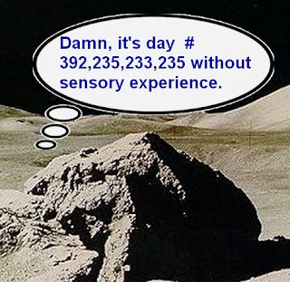 thinking rock