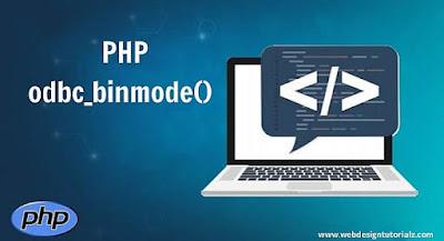 PHP odbc_binmode() Function