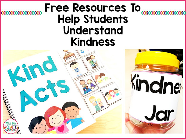"Do your students struggle with understanding kindness? Teaching our students to be a good friend and be kind to one another is often something that gets lost in the fast paced world of education. We often tell our students to ""be a good friend"" or ""be kind"", but how often do we TEACH them how to do this?"