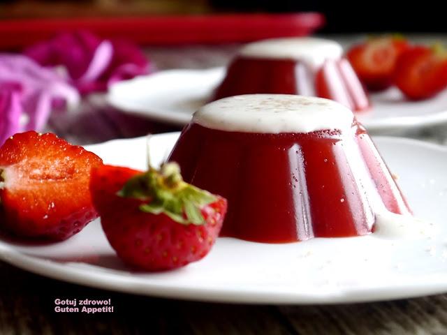 Galaretka truskawkowa z agarem - Czytaj więcej »