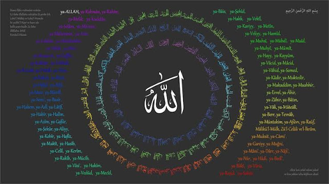 asmaul husna, 99 nama Alloh, sifat-sifat Alloh