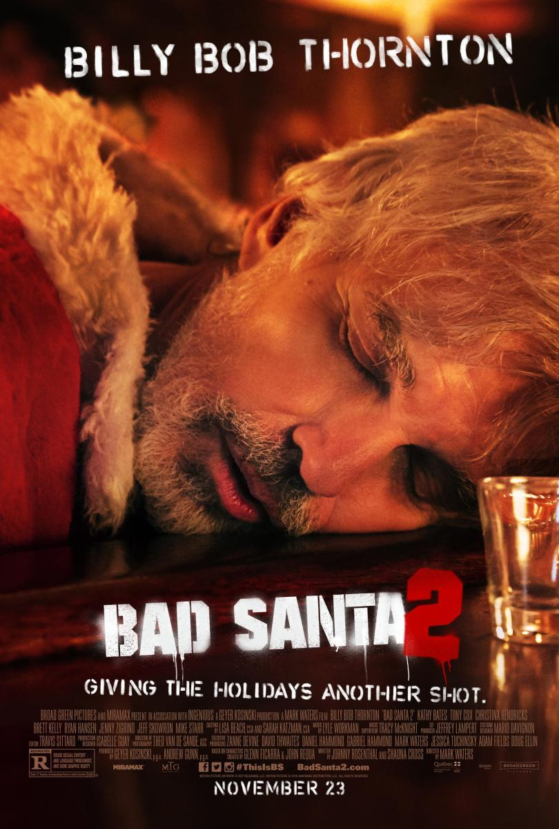 Bad Santa 2 [2016] [DVD9] [NTSC] [Latino]