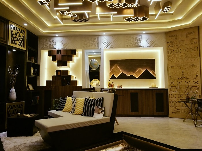 opulent home design, luxury home space