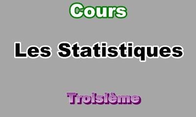 Cours de Statistiques 3eme en PDF