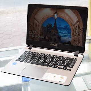 ASUS VivoBook A407M ( Celeron N4000 ) di Malang
