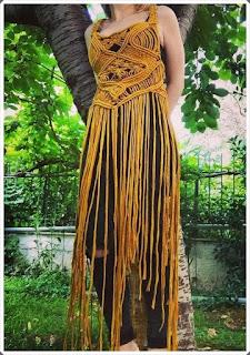 Elişi Elbise Modelleri - Moda Tasarım 17