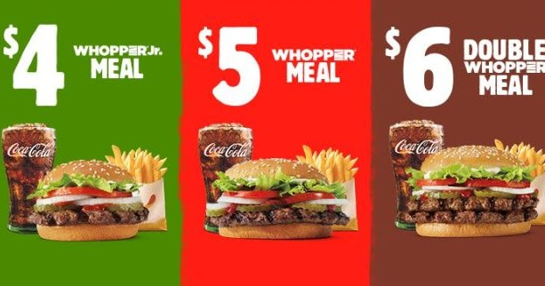 whopper meal deal coupon