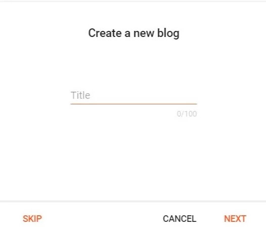 How to start a blog in blogger 2020[step by step guide]