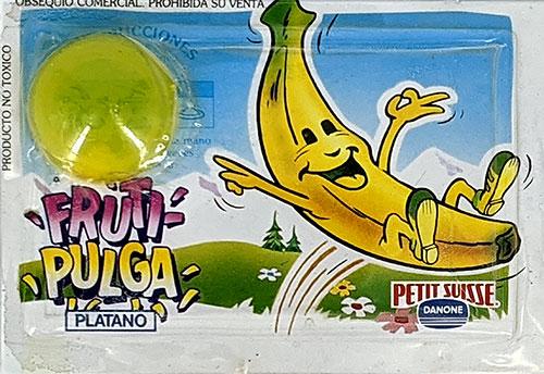 Fruti-Pulgas Danone Plátano