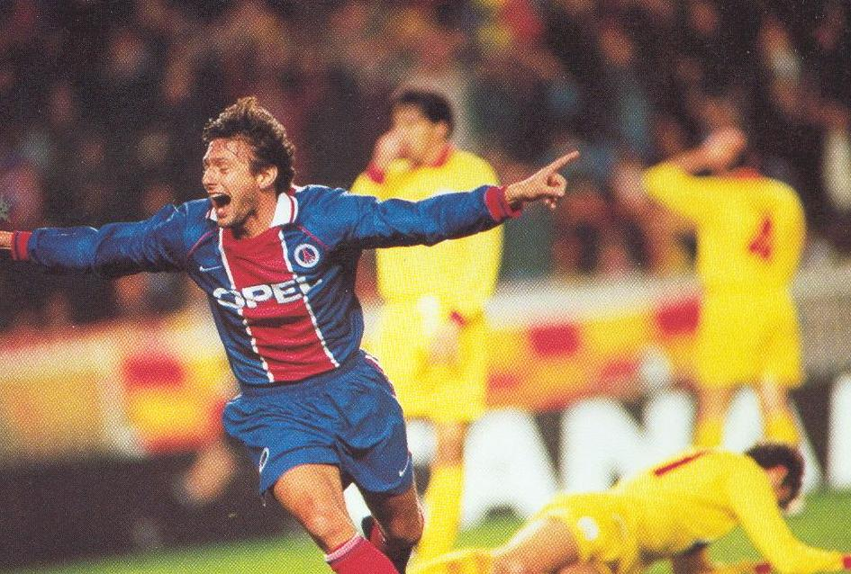 Image result for Leonardo psg European Cup Winners' Cup Final 1997