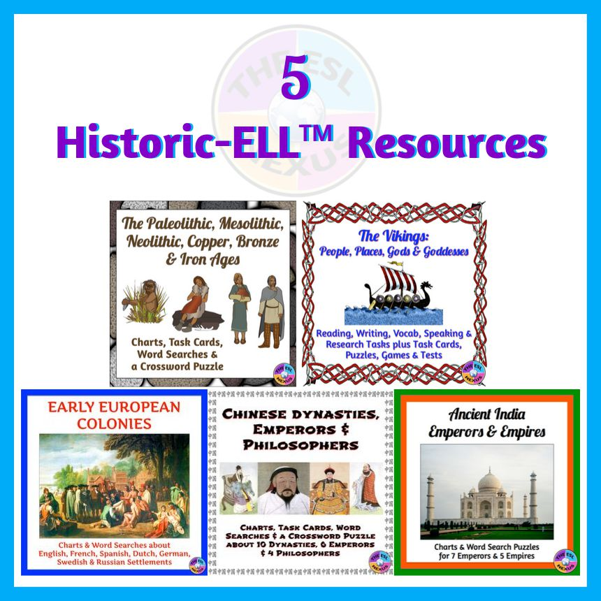 Use these Social Studies Resources when Teaching English Language Learners | The ESL Nexus