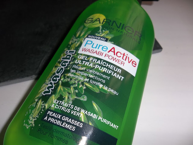 Gel Fraîcheur Ultra-Purifiant Pure Active Wasabi Power - Garnier