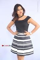 Actress Mi Rathod Pos Black Short Dress at Howrah Bridge Movie Press Meet  0054.JPG