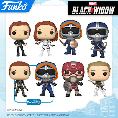 Black Widow Pop! Marvel Vinyl Figures by Funko