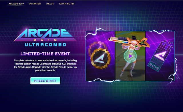 Surrender at 20: Arcade 2019: ULTRACOMBO - New Champ, Skins & More!