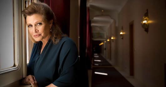 Carrie Fisher and our dystopian future