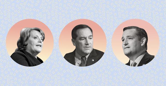 America's Most and Least Popular Senators