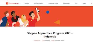 Shopee Apprentice Progam, Simak Cara Daftarnya Disini