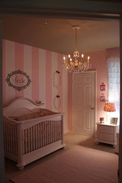 Pottery Barn Baby Chair Office Visitor Chairs Food, Laughter And Happily Ever After: Guest Post: Pretty In Pink Nursery