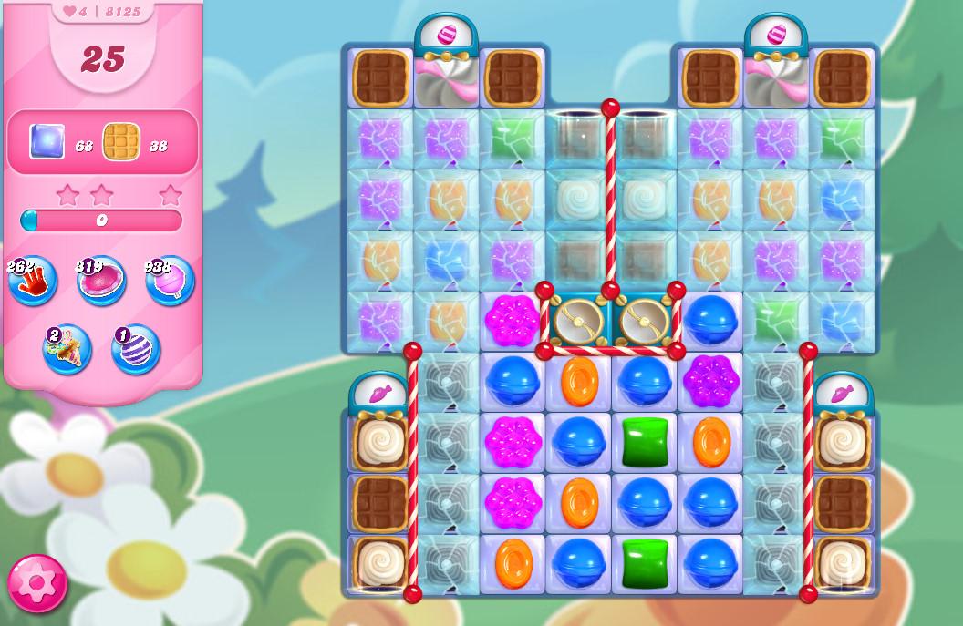 Candy Crush Saga level 8125