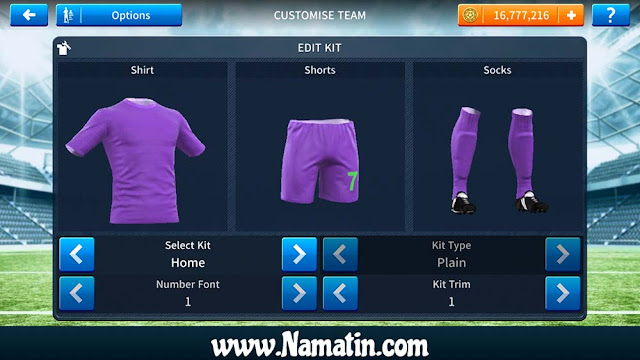 Jersey Dream League Soccer Polos 2019