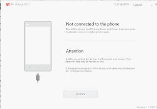 Tutorial Lengkap Cara Unlock Bootloader Perangkat Xiaomi Redmi 3