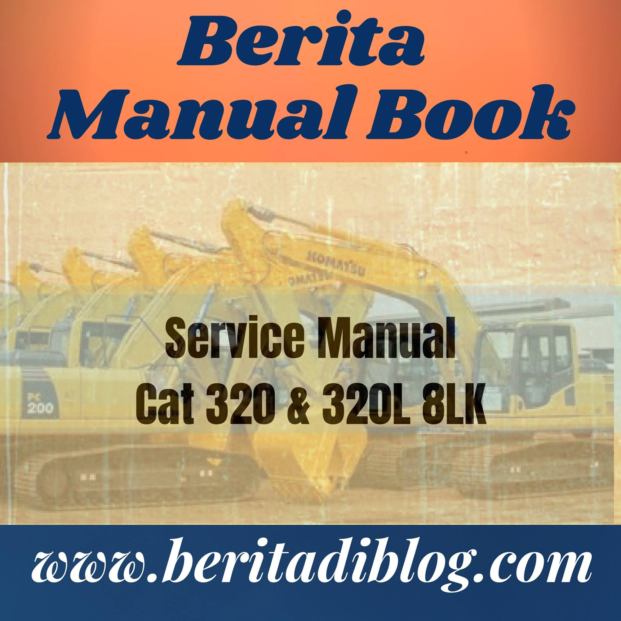 Service Manual Cat 320 & 320L 8LK