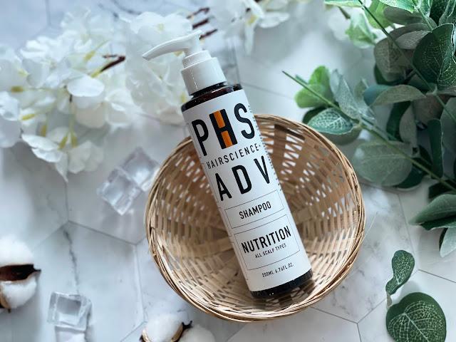 phs hairscience adv nutrition shampoo