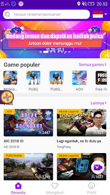 Cara Menukarkan Pulsa dari Aplikasi Nimo TV