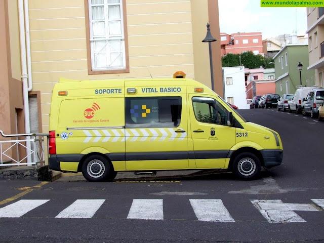 Un hombre herido al caerse en un sendero de Garafía