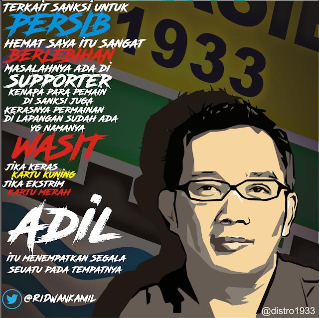 Ridwan Kamil Untuk Persib