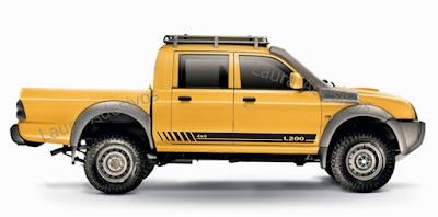 adesivo lateral tuning lt5 para l200 lançamento 2016 2017 tuning